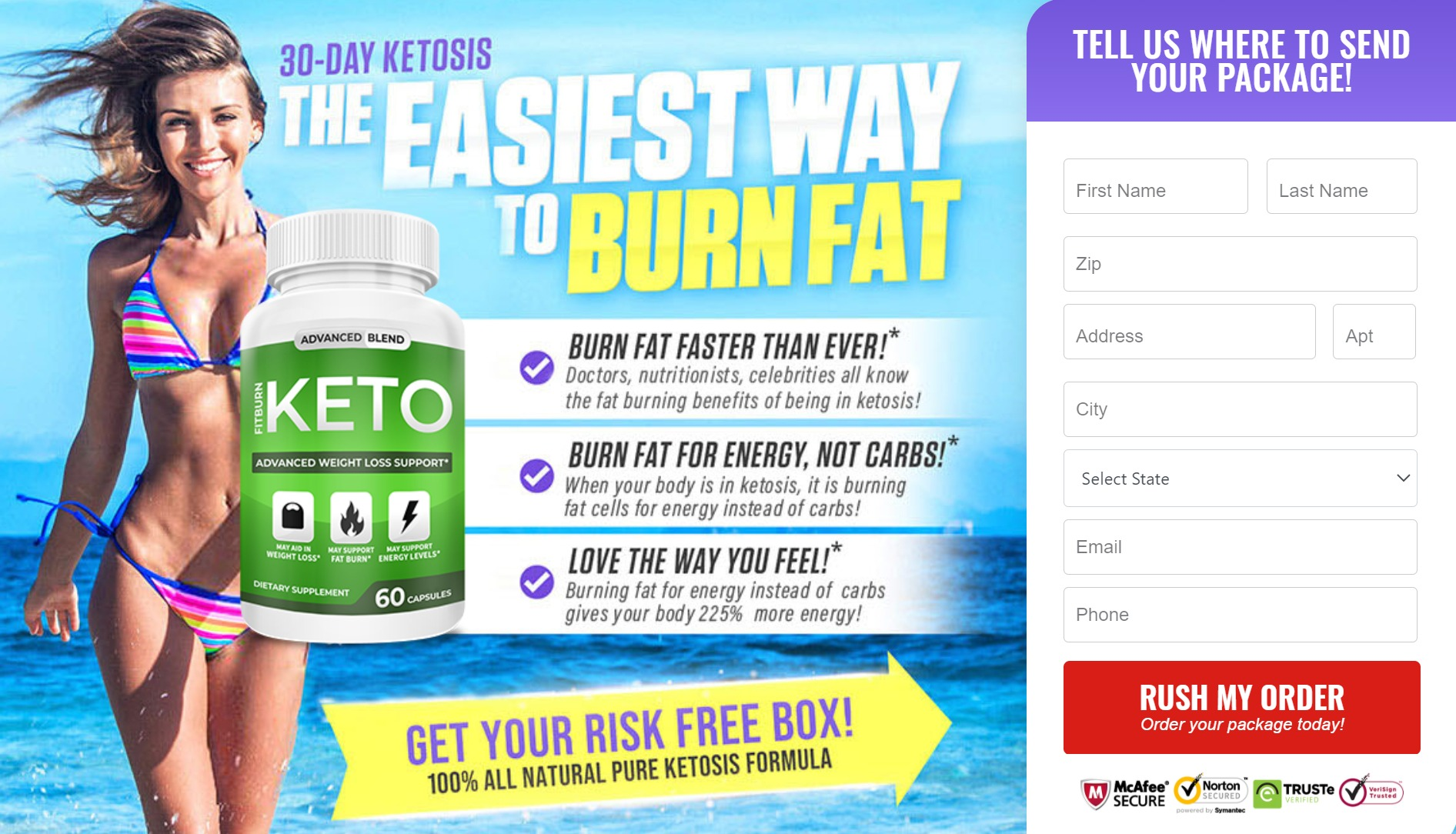 Fitburn Keto Advaned Blend® *Reviews*  5 Ways To Lose 15 LBS Weight!