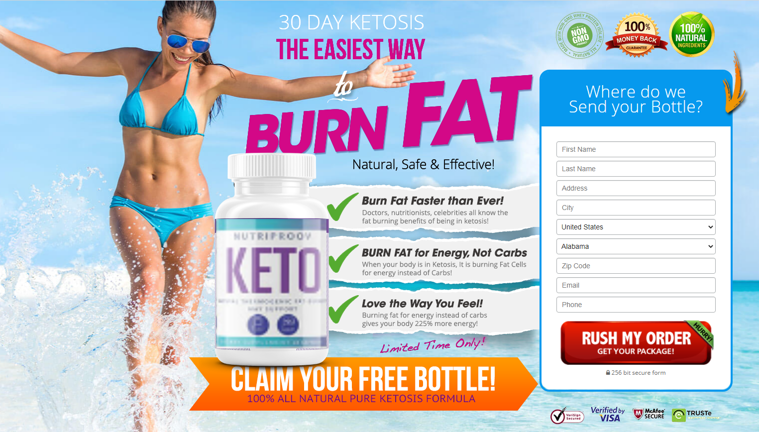 NutriProov Keto | 100% All Natural Ingredients! Try NutriProov Keto Today!