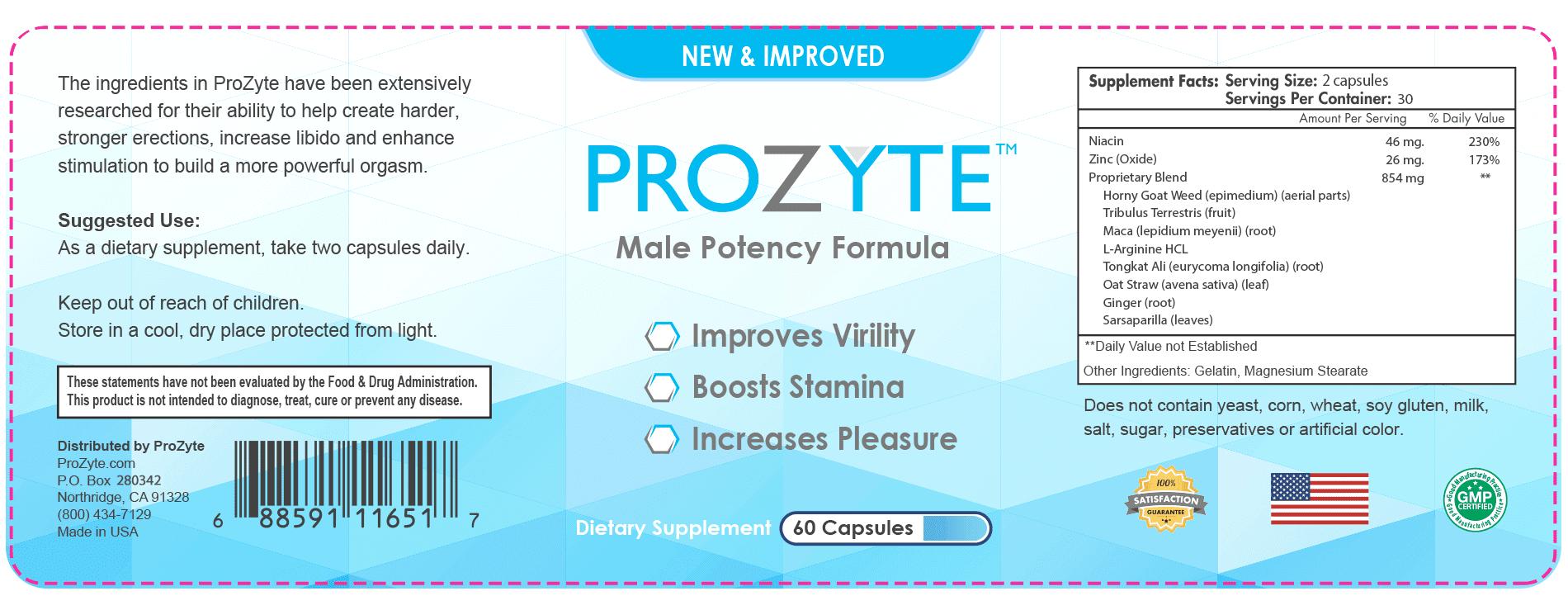 Prozyte Male Enhancement *Prozyte Reviews* Price, Ingredients, Scam?