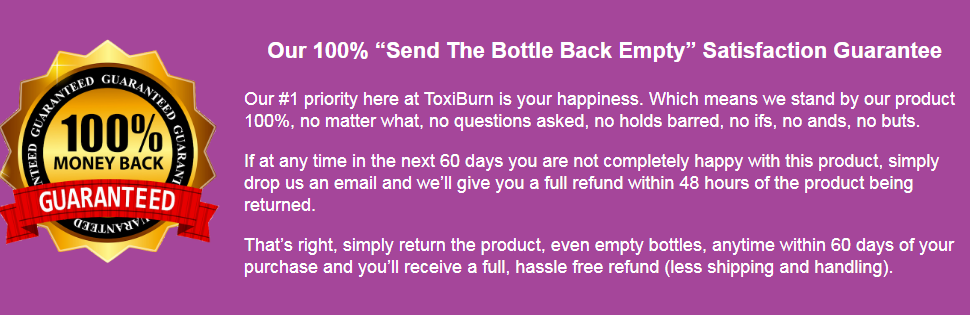 ToxiBurn Weight Loss Supplement [Guide!] Lose Weight Starting Tonight