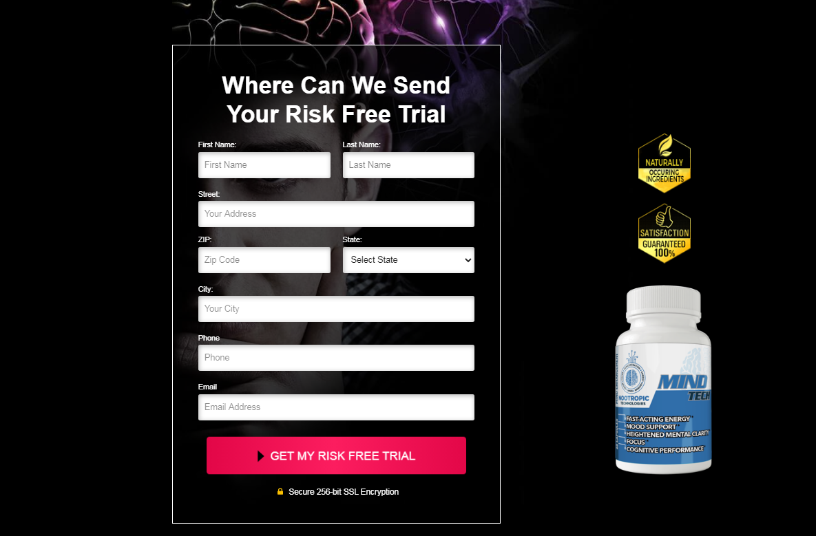 Mind Tech Pills Supporting Cognitive Characteristic to Helping Universal Mind Fitness