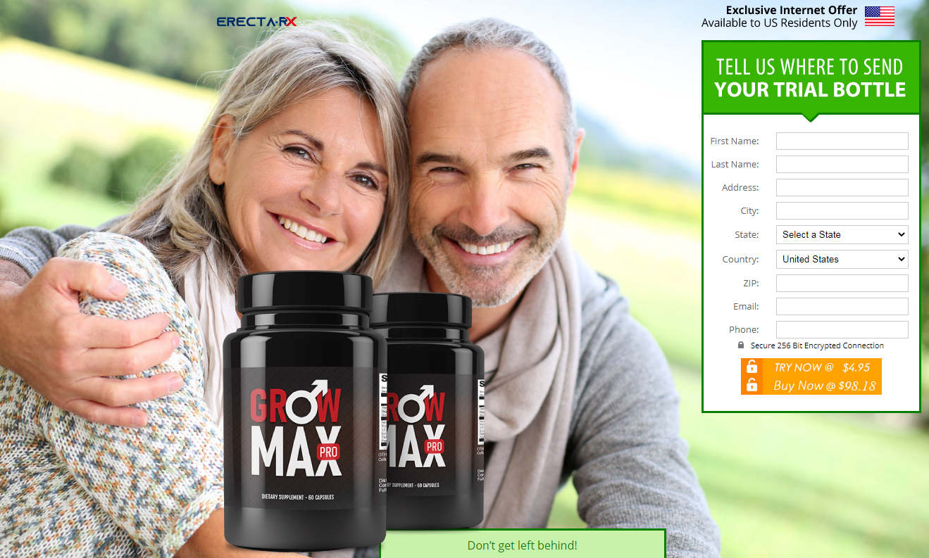 Grow Max Pro Review (Grow Max Pro Male Enhancement) Scam or Legit?