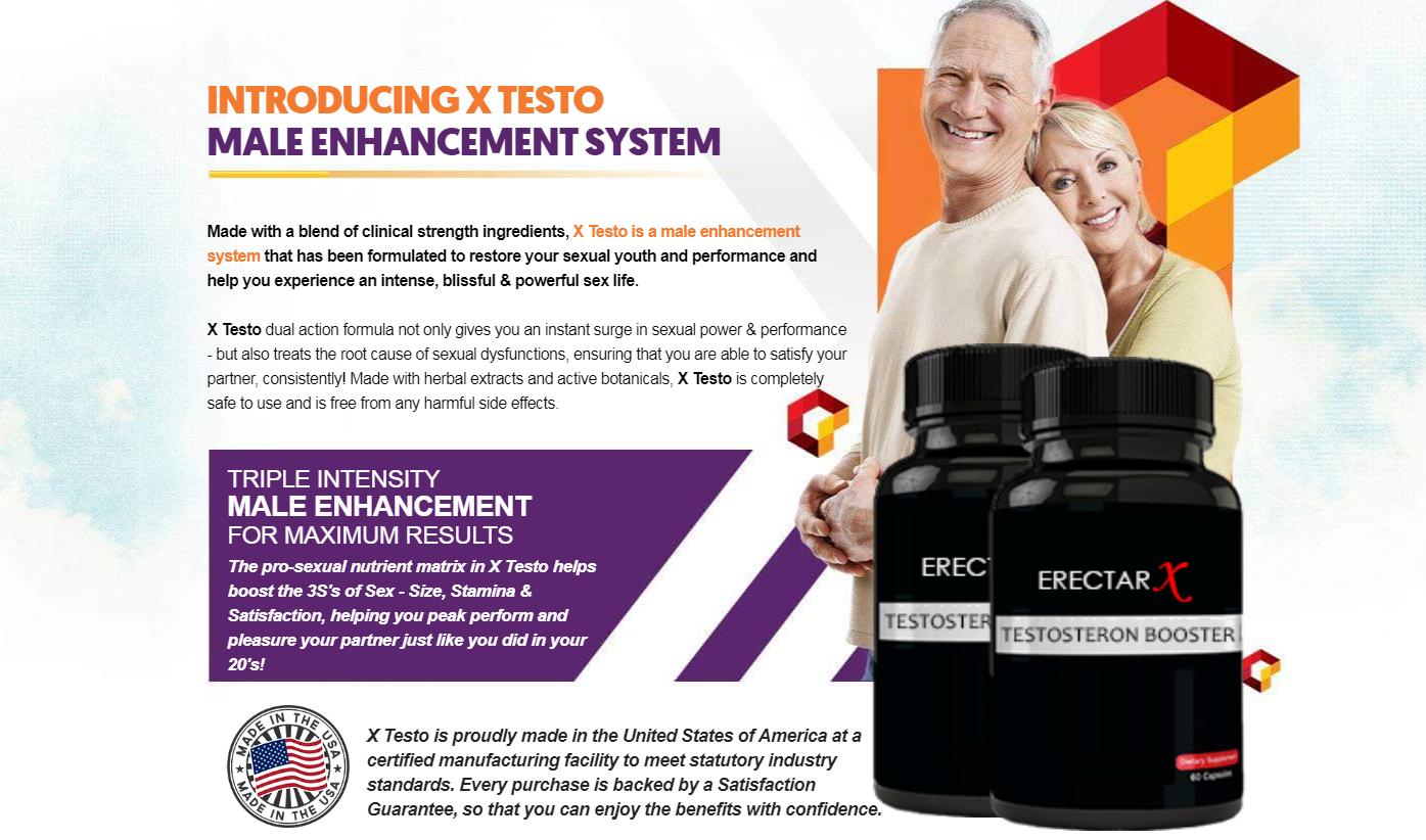 "ErectaRx® ""ErectaRx Testosterone Booster"" ErectaRx Male Enhancement!"