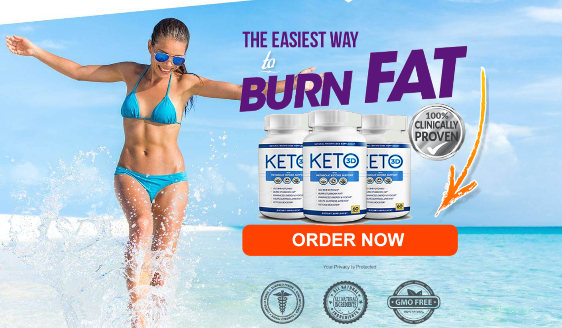 "Keto 3D® ""GUIDE:"" (UPDTAE 2020) Price, Scam, Benefits, Reviews?"