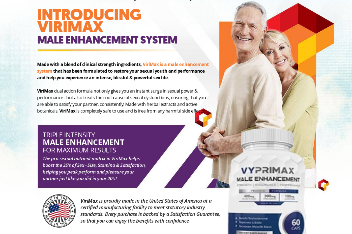 Vyprimax Reviews | Vyprimax Male Enhancement | What is Vyprimax ME?