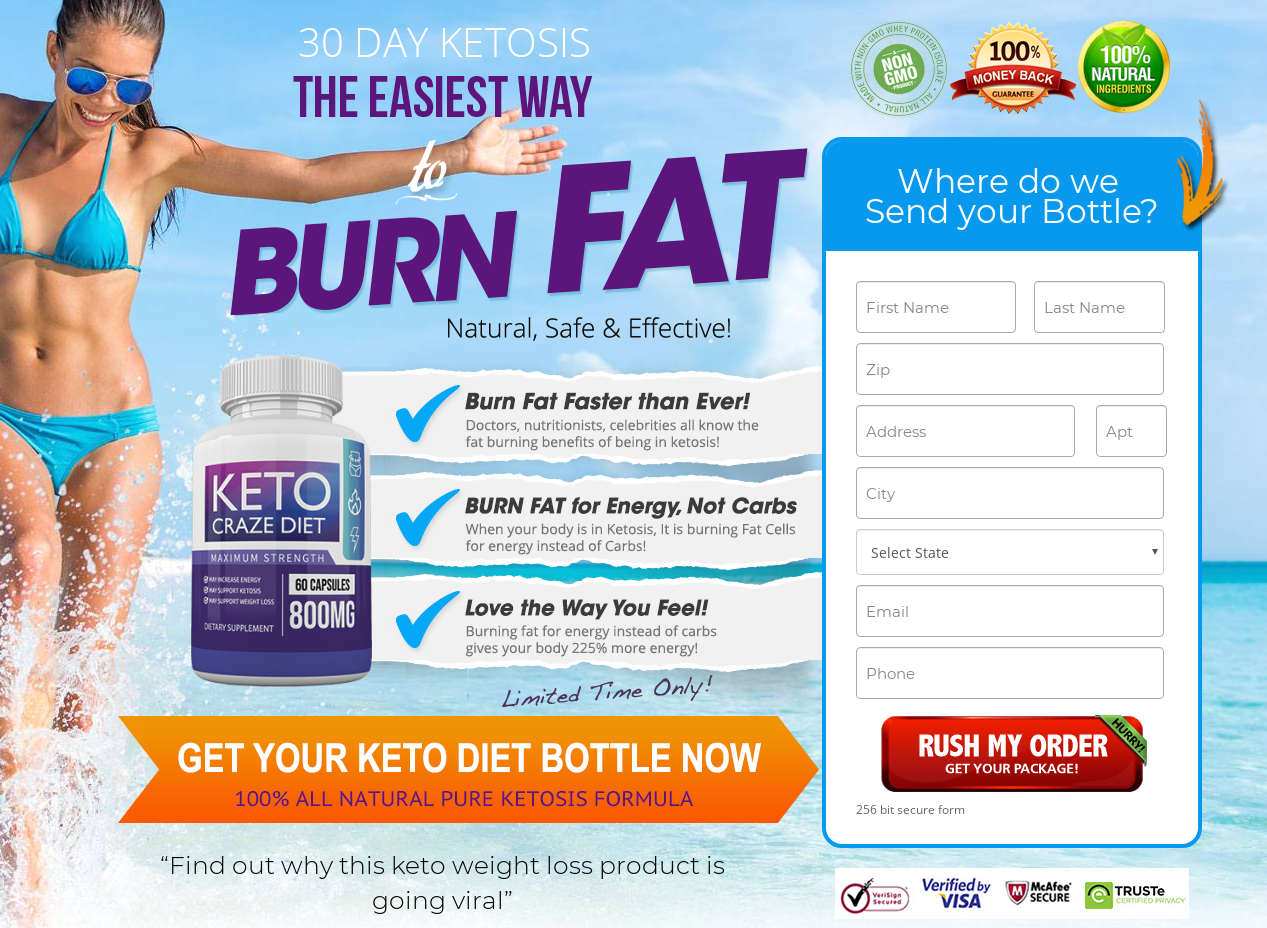 Keto Craze Diet® | Shark Tank | Guide (UPDATE 2021) Its Scam or Hoax?