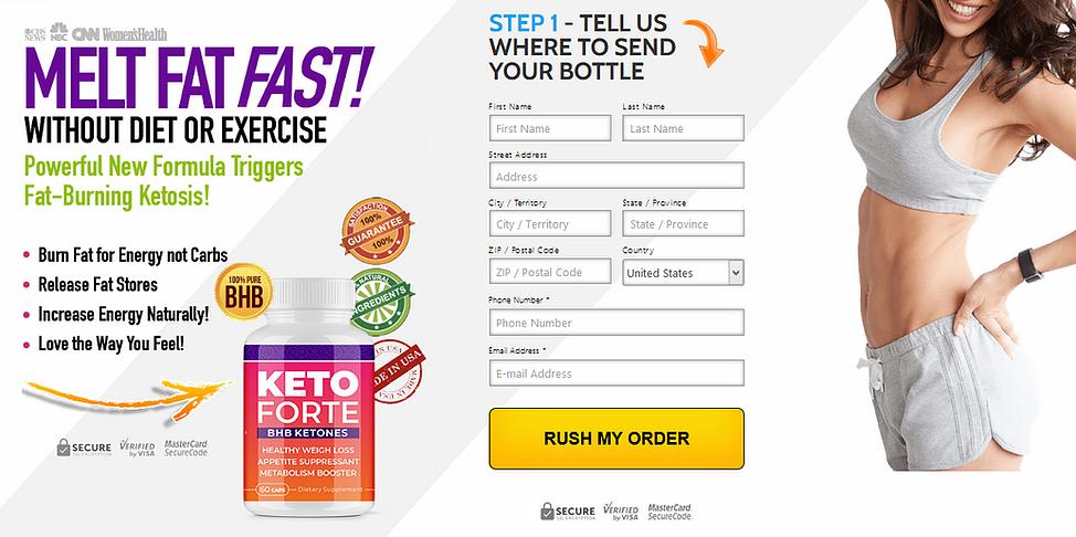 """Keto Forte® """"100% Legit Keto Forte BHB Ketones"""" Ingredienta, Reviews?"""