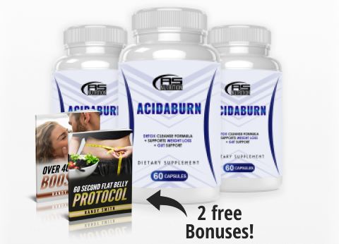 Acidaburn Detox Cleanse Formula® [Upgrade 2021] Its Scam or Legit?