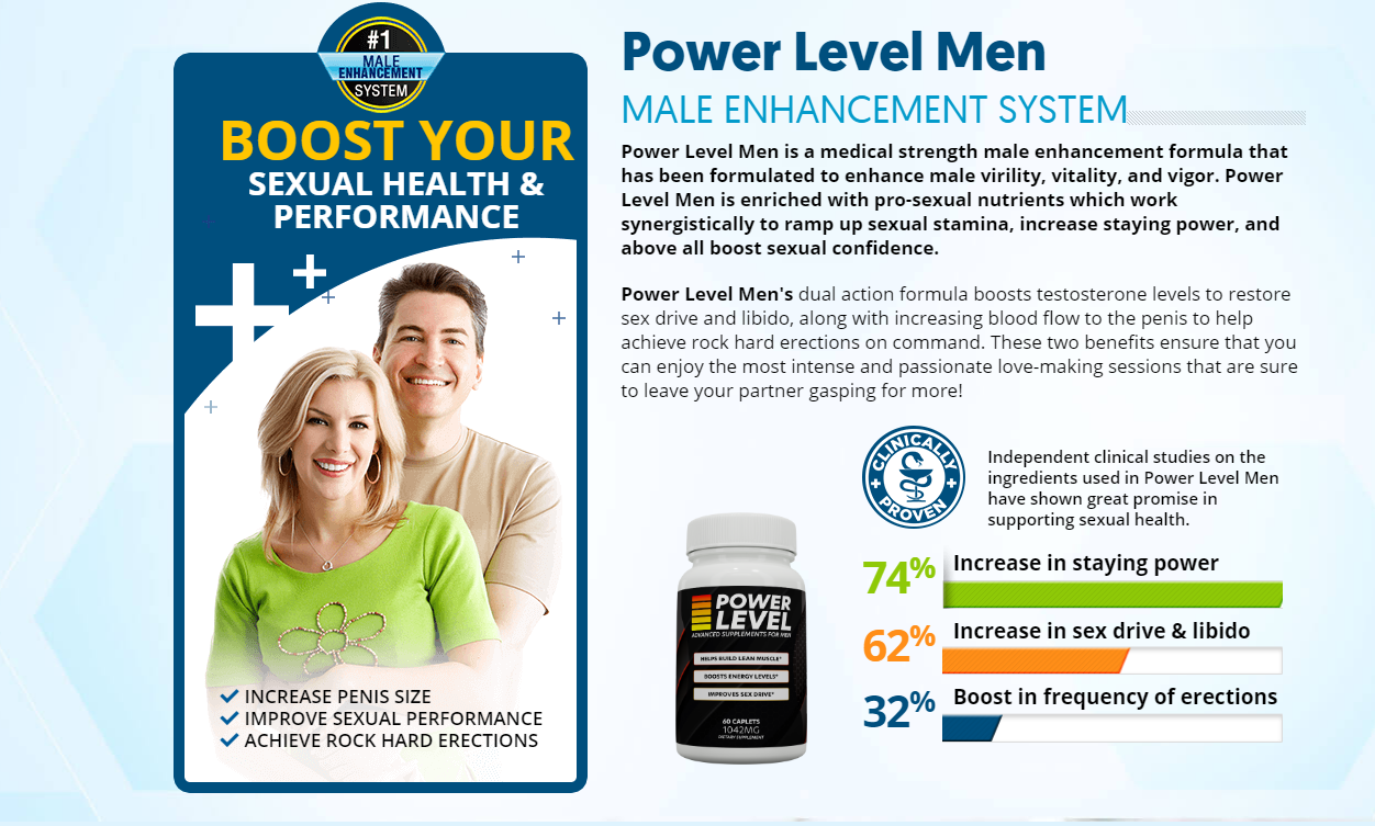 "Power Level Male Enhancement (Scam or Hoax) ""Pros & Cons"" Reviews?"