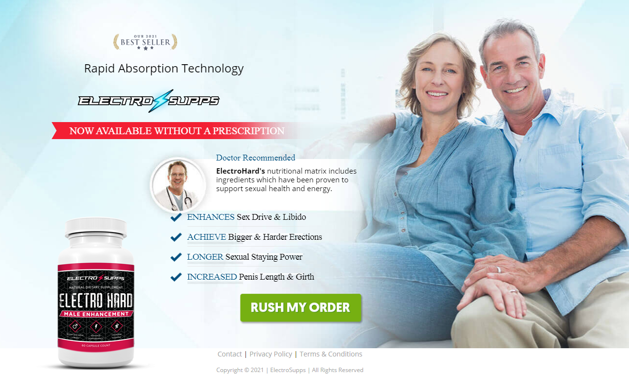 Electro Hard Male Enhancement Reviews [New 2021] Its Really Works?