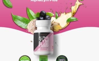 "Alpha Zym Plus Reviews ""100% Legit"" Dietary Supplement 60 Capsules!"