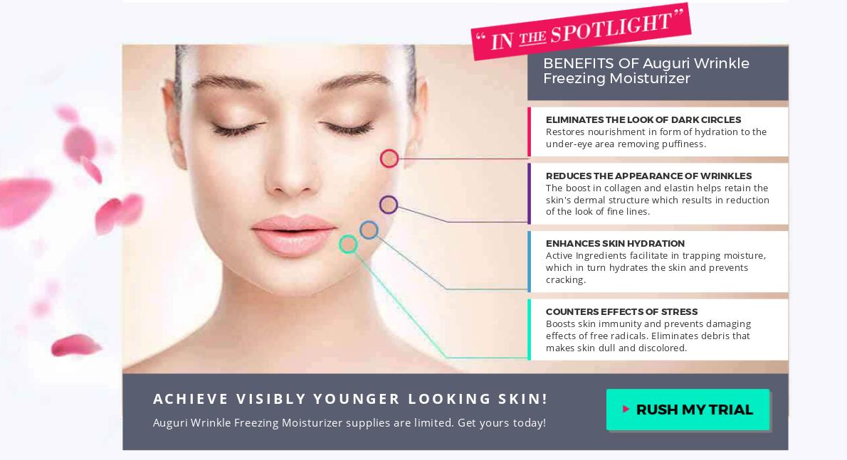 Auguri Wrinkle-Freezing Moisturizer [Auguri Cream] Price, Scam, Reviews