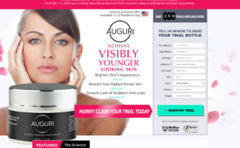 Auguri Wrinkle-Freezing Moisturizer [Auguri Cream] Price, Scam, Reviews