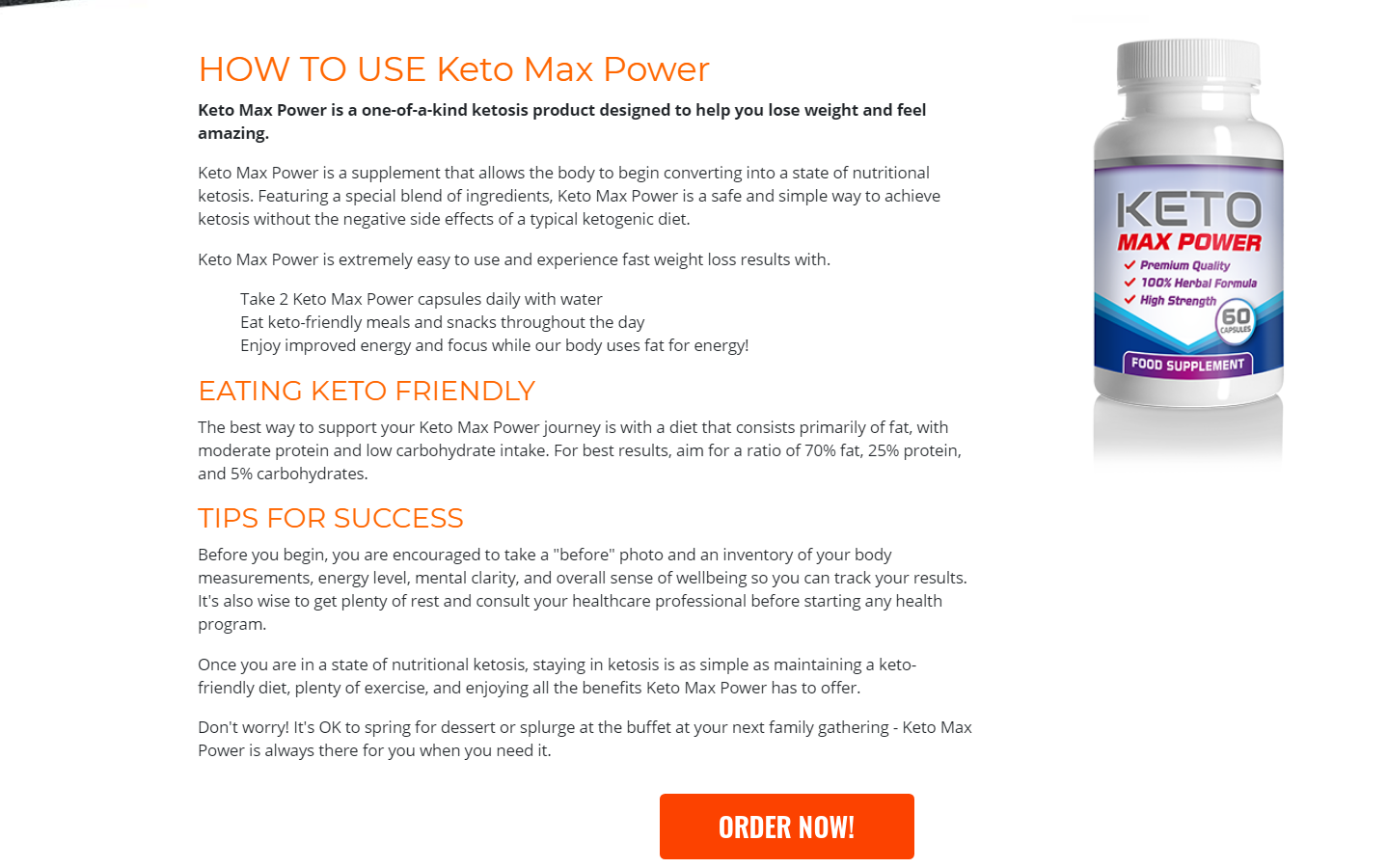 Keto Max Power Reviews *UPGRADE 2021* Does Its Really Works?