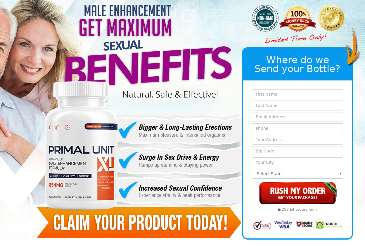 "Primal Unit XL® ""100% Legit Pills"" Price, Scam, Ingredients, Reviews?"