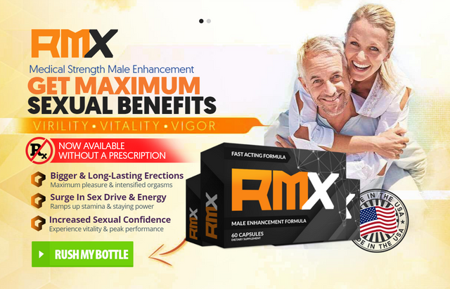 RMX Male Enhancement® (UPDATE 2021) Price, Scam, Ingredients?