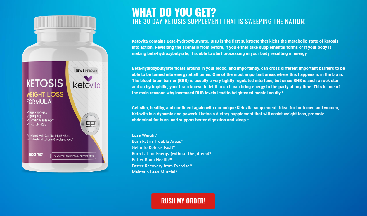 "Ketovita Reviews® ""Pros & Cons"" Ingredients, Benefits, Scam, Reviews?"