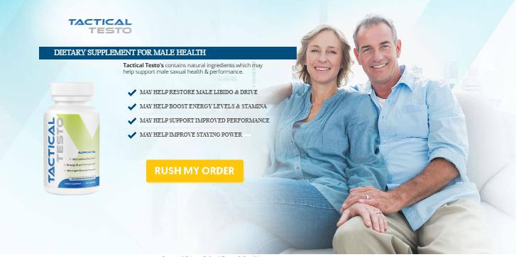 Tactical Testo - Tactical Testo Pills - May Help Restore Male Libido & Drive!