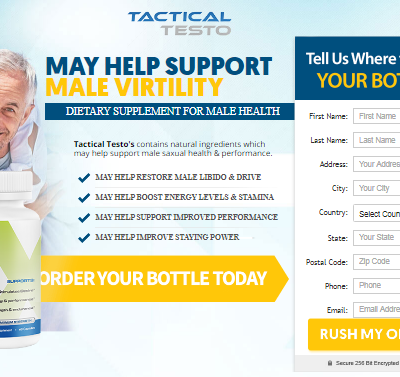 Tactical Testo - Tactical Testo Pills - May Help Restore Male Libido & Drive!