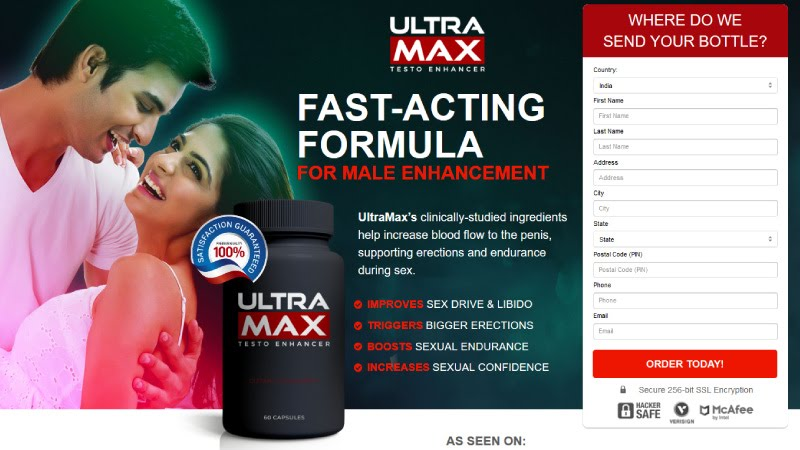 UltraMax Rise Male Enhancement [Upgrade 2021] Its Really Works?