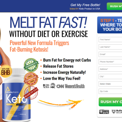 """AthletePharm Keto [New 2021] """"Pros & Cons"""" Does Its Really Works?"""