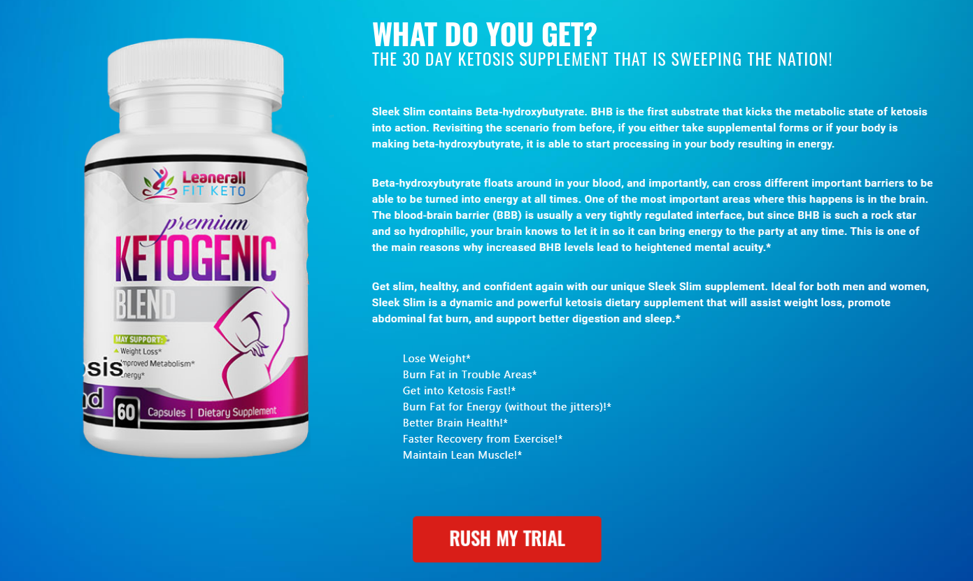 Leanerall Fit Keto Reviews (Modify 2021) Does Its Really Works?