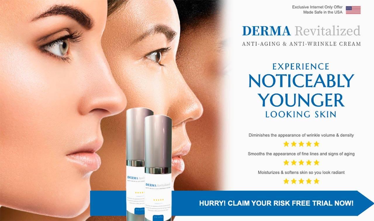 "Derma Revitalized ""REVIEWS & SCAM"" World #1 Anti-Aging Cream?"