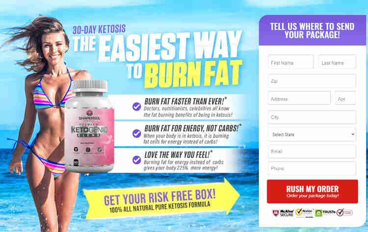 Shapersol Vita Keto Premium Ketogenic Blend - Fast Fat Burn Formula!