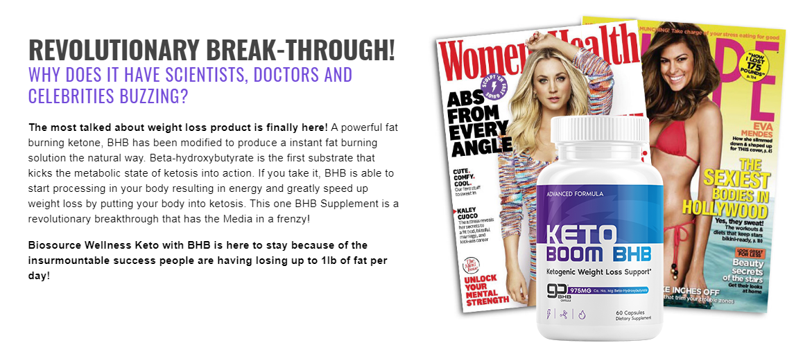 """Keto Boom BHB Pills """"REVIEWS & RESULTS"""" Does Its Really Works?"""