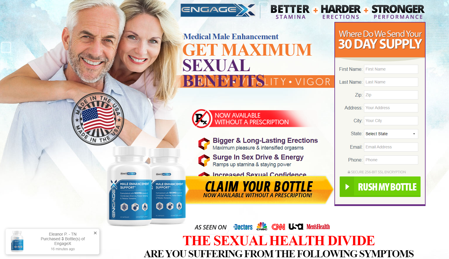 Engagex Male Enhancement (Modify 2021) Does Its Really Works?
