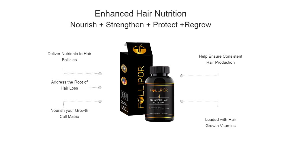 Follipur Enhanced Hair Nutrition Reviews - Does Its Really Works?