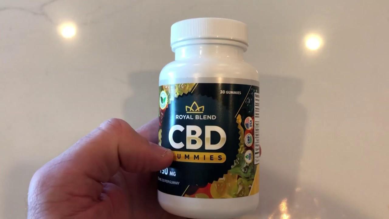 Royal Blend CBD Gummies (Its Scam or Legit) Des Its Really Works?
