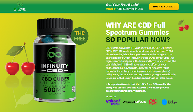 Infinuity CBD Cubes - Ingredients, Works, Price, Scam, Reviews?