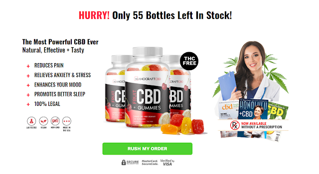 Nanocraft Fruit CBD Gummies - Price, Scam, Ingredients, Reviews?